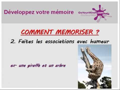 comment renforcer notre memoire