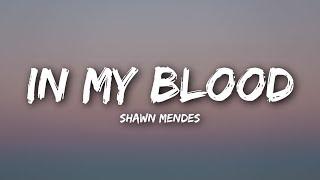 Video Shawn Mendes - In My Blood (Lyrics / Lyrics Video) MP3, 3GP, MP4, WEBM, AVI, FLV April 2018