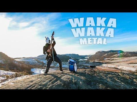 Waka Waka (metal cover by Leo Moracchioli) (видео)