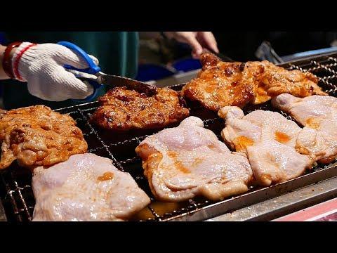Đài Loan thức ăn đường phố - Tiêu Cay Gà Phô Mai gà rán - Thời lượng: 27:38.