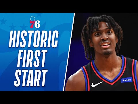 Career-High 39 PTS For Tyrese Maxey! Most In A Rookie's First Start Since 1970!