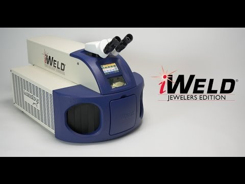 <h3>iWeld - The Best Laser Welding Machine for Jewelers</h3>Specifically designed for the jewelry market, the Jewelers Edition features 125 Joules of Max Pulse Energy, an average power of 60 Watts, and peak power of 10kW which is by far the most powerful in the industry.<br /><br />The iWeld is ideal for working with all precious alloys as well as titanium, stainless steel, and other space age metals. 99 Memory Cells are also available with our industry leading Jewelry Application Presets.<br /><br />The iWeld is the only laser welder completely manufactured in the USA and comes with a two year warranty.<br /><br /><br /><br />