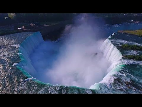 Download Niagara Falls & Area - 4K (Ultra HD) Aerial Video using DJI Phantom 4 HD Mp4 3GP Video and MP3