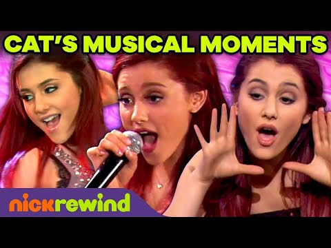 Ariana Grande's BEST Musical Performances as Cat Valentine! 🎤   Victorious