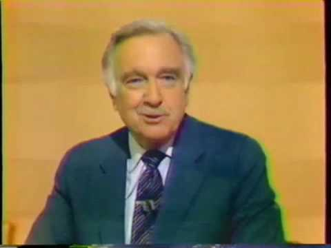 Walter Cronkite Signs Off .. 33 years ago