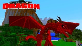 Minecraft - HOW TO TRAIN YOUR DRAGON - Brand New Dragons! [48]
