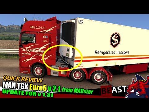 MAN TGX Euro 6 v2.1 by MADster