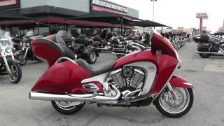 10. 000267 - 2010 Victory Vision TOUR - Used motorcycles for sale