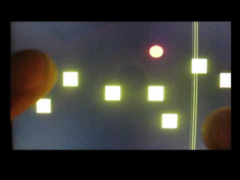 Video of Sonorox Sequencer (Tenori on)