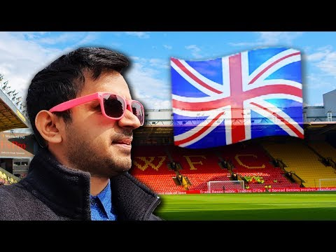 UK VLOG! In The UK For A Football Match