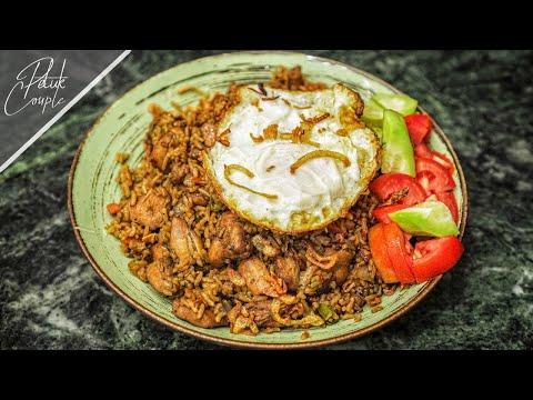 😍 আম্মুকে শেখালাম Indonesian Fried Rice Recipe (Nasi Goreng) ❤️