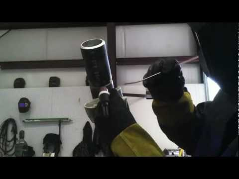 Tig Welding Certification Test – 6g pipe welding test Hot Pass