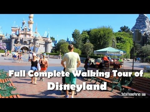 [HD] COMPLETE 1 HOUR SMOOTH Tour of Disneyland
