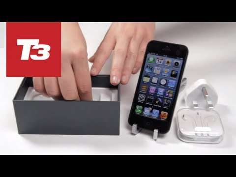 iphone 5 unboxing - iPhone 5 Unboxing -- The new iPhone is Apple's slimmest smartphone yet and also comes packing 4G LTE connectivity, a 4-inch screen and new iSight camera. We ...