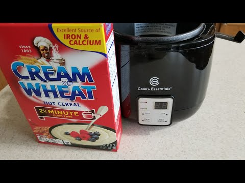 Digital Perfect Cooker Cream Of Wheat Hot Cereal Cooks Essentials Qvc