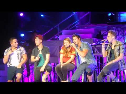 Worldwide - Big Time Rush perform