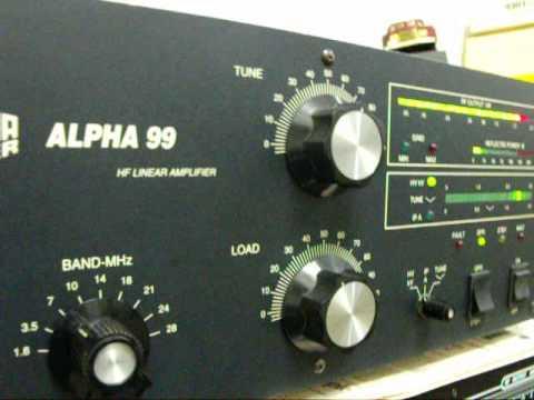 ALPHA-99   RF POWER  AMPLIFIER