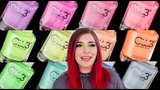 Video Color Club Whatever Forever Neon Pastel Nail Polish Collection Review || KELLI MARISSA MP3, 3GP, MP4, WEBM, AVI, FLV Agustus 2019