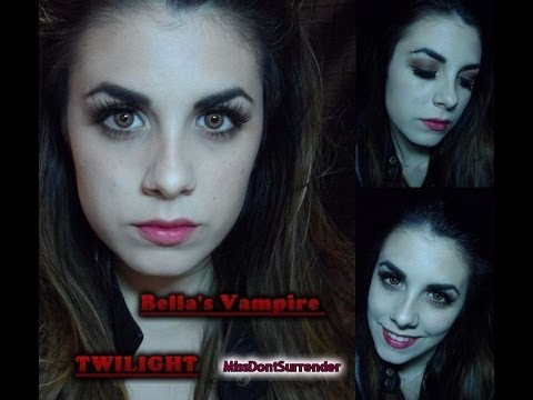 Maquillaje Bella Vampira ! / Bella's Vampire Makeup BREAKING DOWN ( TWILIGHT)