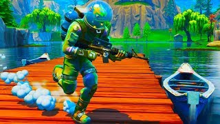 *Alien Fish* Leviathan at Loot Lake Challenge in Fortnite Battle Royale