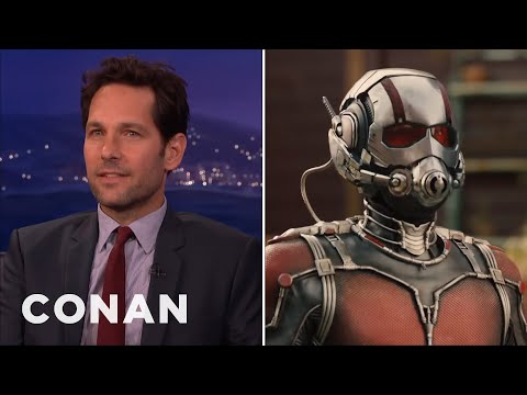 "Paul Rudd's EXCLUSIVE ""Ant-Man"" Clip  – CONAN on TBS #EsperanzaMia"