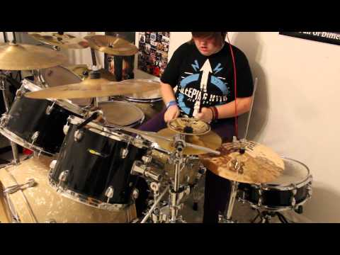 I See Stars- Upside Down Drum Cover