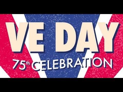 V E Day in London 1945