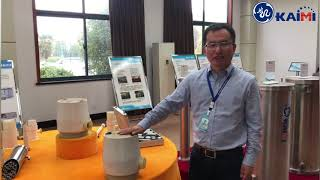 UF High packing density tubular membrane for wastewater treatment youtube video