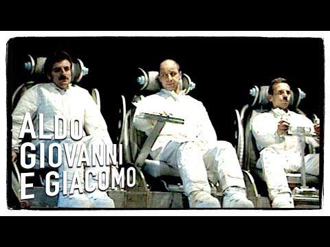 aldo, giovanni e giacomo - gli astronauti (i corti)