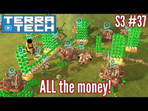 Terratech | Ep37 S3 | Automated Mining - Money Galore!!! | Terratech v0.8.1.3 Gameplay