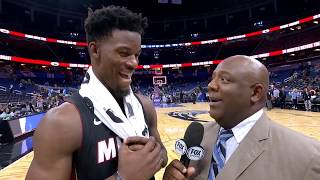Jimmy Butler Jokes Tyler Herro Should Have Been Thrown Out Of Game by Bleacher Report