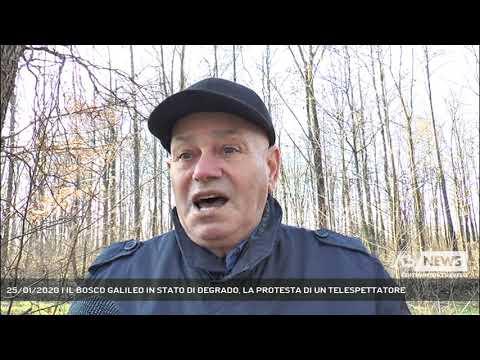 25/01/2020 | IL BOSCO GALILEO IN STATO DI DEGRADO, LA PROTESTA DI UN TELESPETTATORE