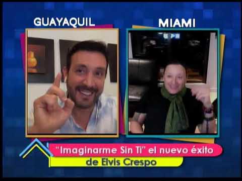 Imaginarme Sin Ti el nuevo éxito de Elvis Crespo