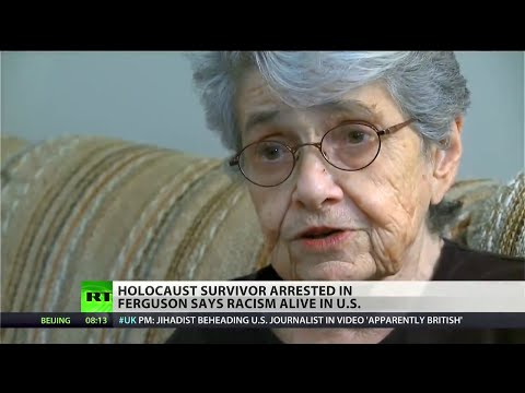 "Holocaust survivor on police militarization: ""Like little boys playing with toys"""
