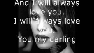Video Whitney Houston - I Will Always Love You - Lyrics MP3, 3GP, MP4, WEBM, AVI, FLV Juli 2018