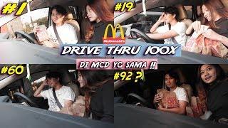 Video DRIVE THRU 100 KALI DI MCDONALD'S YG SAMA !!! SAMPAI PADA BINGUNG HAHA MP3, 3GP, MP4, WEBM, AVI, FLV Juli 2019