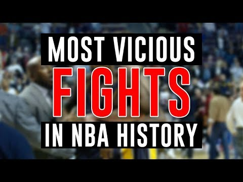 Most Vicious Fights In NBA History