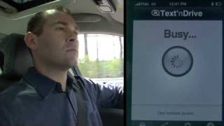 Text'nDrive Drive Safely w SMS YouTube video
