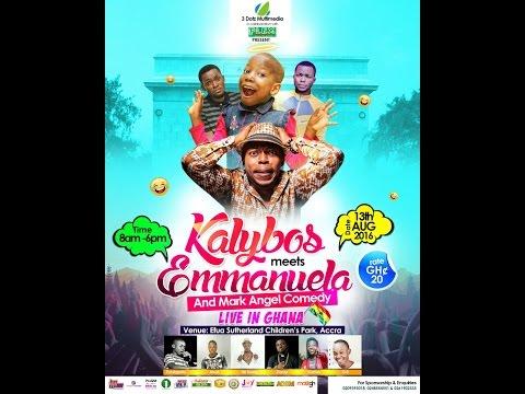 EMMANUELA AGAINST KALYBOS LIVE IN GHANA.