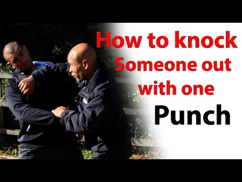 How to knock someone out with one punch