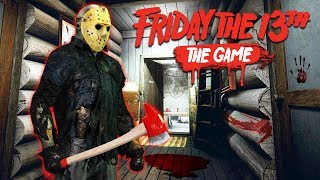 Playing as Jason from Friday the 13th in the new Friday the 13th game! Friday the 13th: The Game with Typical Gamer!
