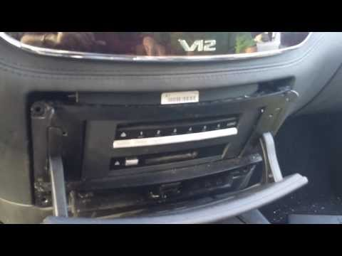 How to Remove Navigation / Display from Mercedes S550 2007 for Repair.