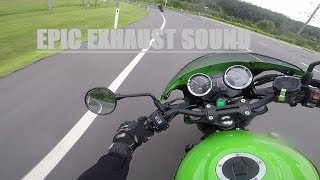 5. 2018 Z900RS Cafe Acropovic Exhaust Headers / TEST RIDE