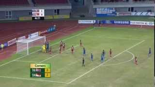 27th SEA Games (Football Semi-finals): Singapore Vs Thailand
