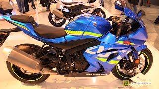 9. 2018 Suzuki GSX R1000 ABS - Walkaround - 2017 EICMA Milan Motorcycle Exhibition