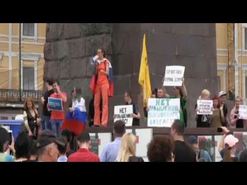 Στους δρόμους για το συνταξιοδοτικό στη Ρωσία