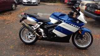 8. 2006 BMW K1200S TWO BROTHERS EXHAUST