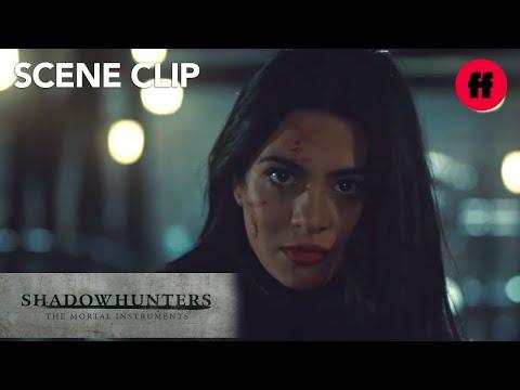 Shadowhunters | Season 2, Episode 19: Izzy Saves Jace | Freeform