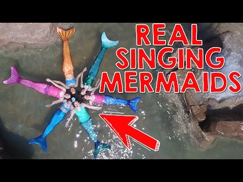 Daugther's of Triton - Where is Ariel the Little Mermaid? | See real mermaids swimming and singing