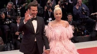 Video Lady Gaga and Bradley Cooper on the red carpet for the Premiere of A Star is Born at the Venice Film MP3, 3GP, MP4, WEBM, AVI, FLV Januari 2019